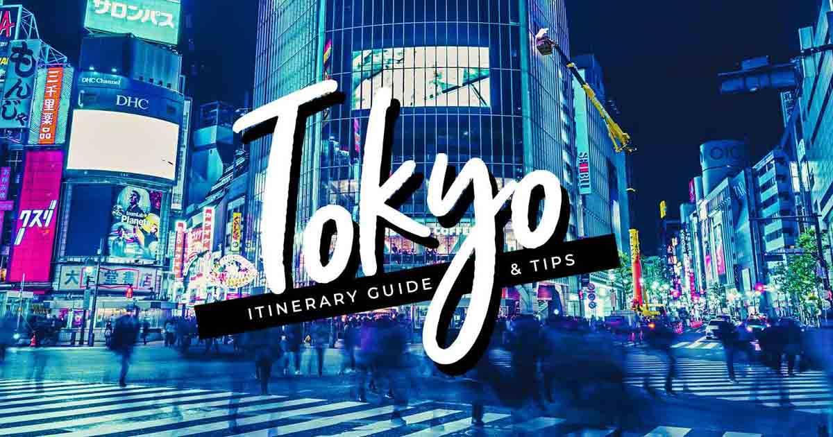 初学者的东京行程和DIY旅游指南