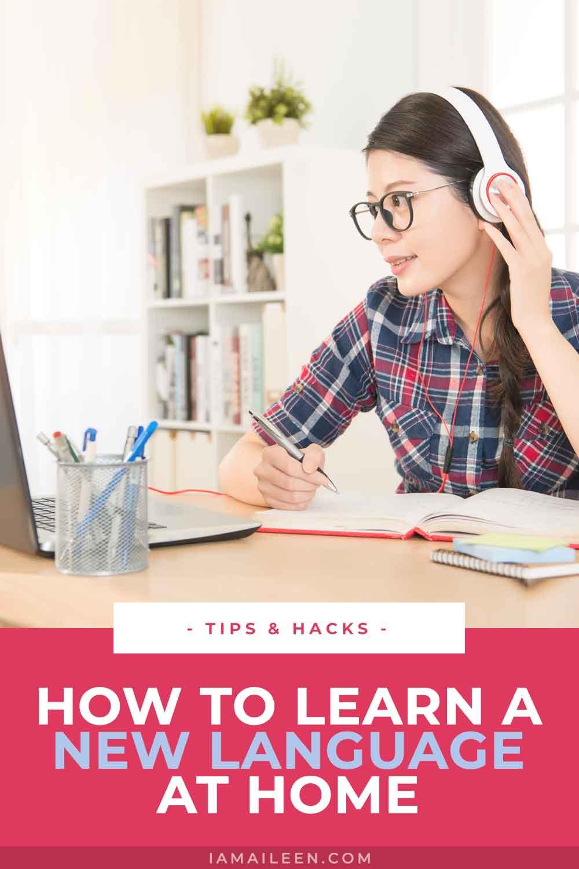 如何在预算内在家学习一种新语言