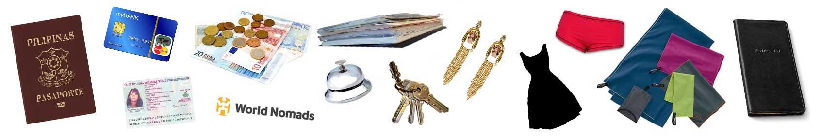 终极装箱清单指南:必不可少的物品
