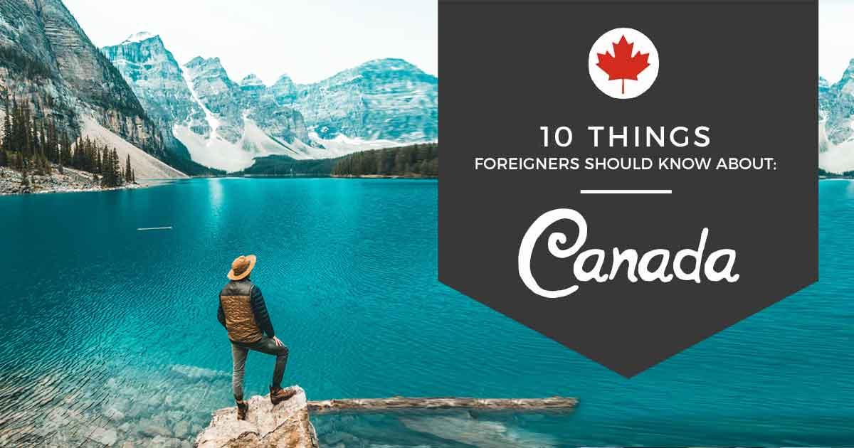 关于加拿大,应该知道的十件事