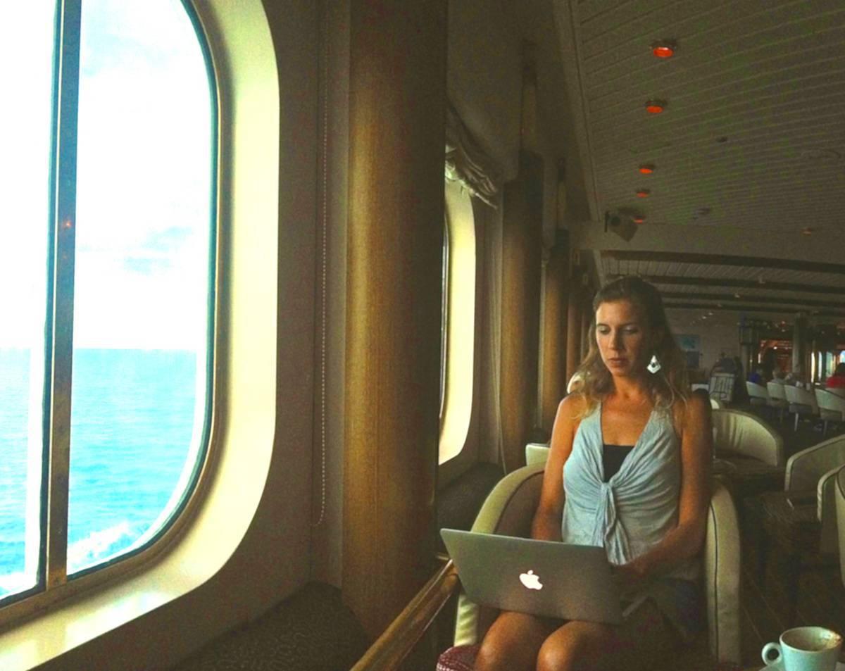 游牧邮轮:在大西洋工作的13天