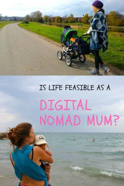 作为数字游民妈妈的生活前景