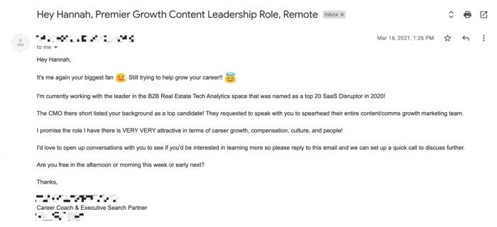 如何写一封好的招聘电子邮件