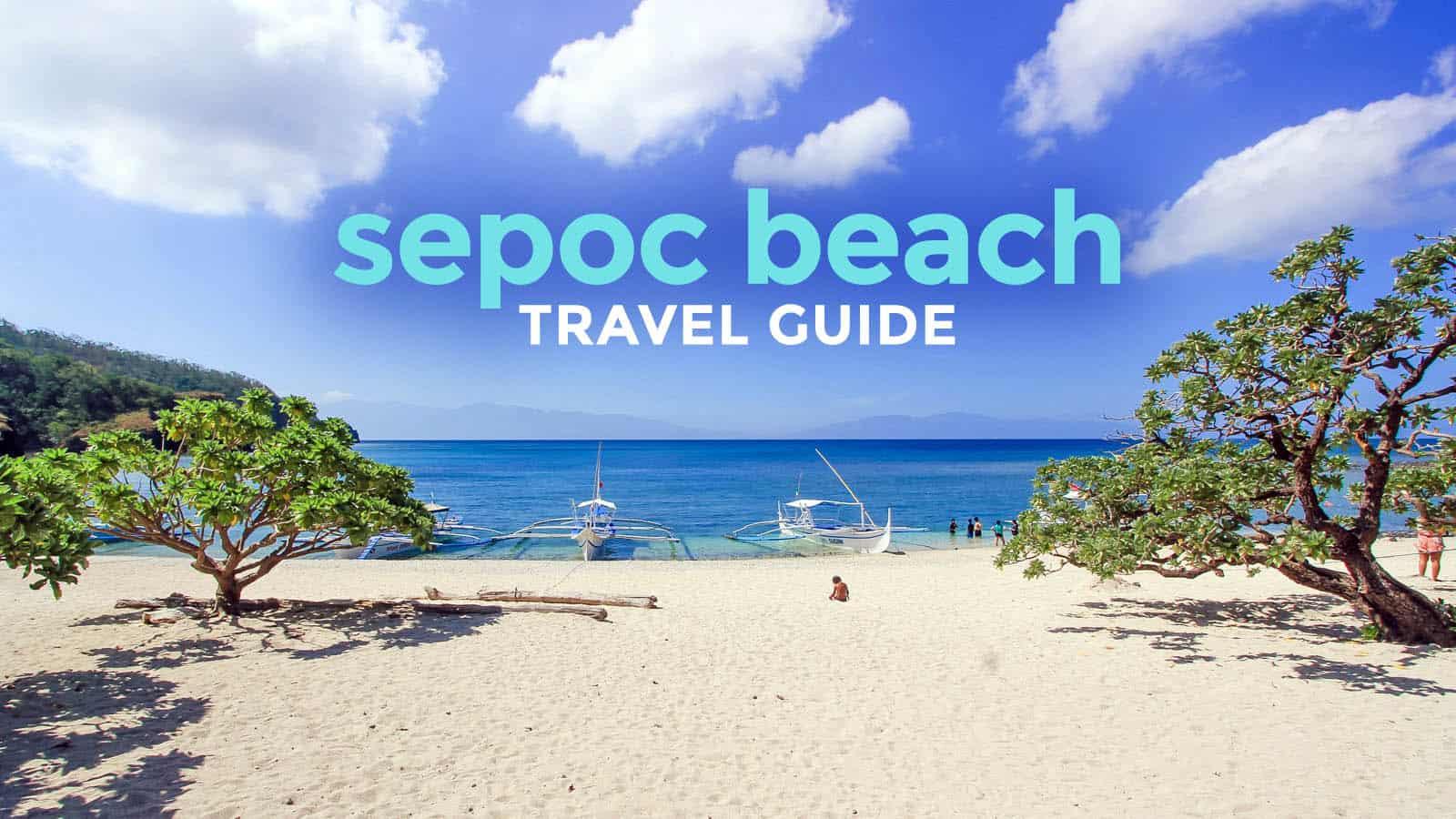 @# 最后更新。2020年3月11日 首先,Sepoc不是一个岛。它是一个海滩,位于八打雁Tingloy的Maricaban岛的西端。