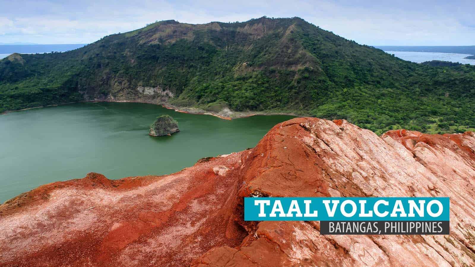 塔尔火山口。跋涉到菲律宾八打雁的火热内脏 | 穷游者的行程博客