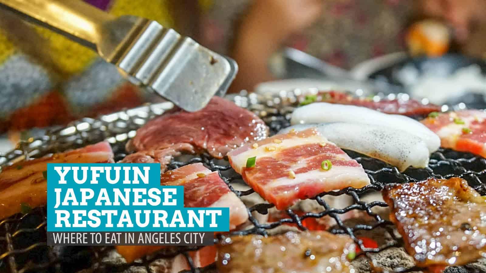 Yufuin日本餐厅。在邦板牙省安吉利斯市的饮食地点   穷游者行程博客