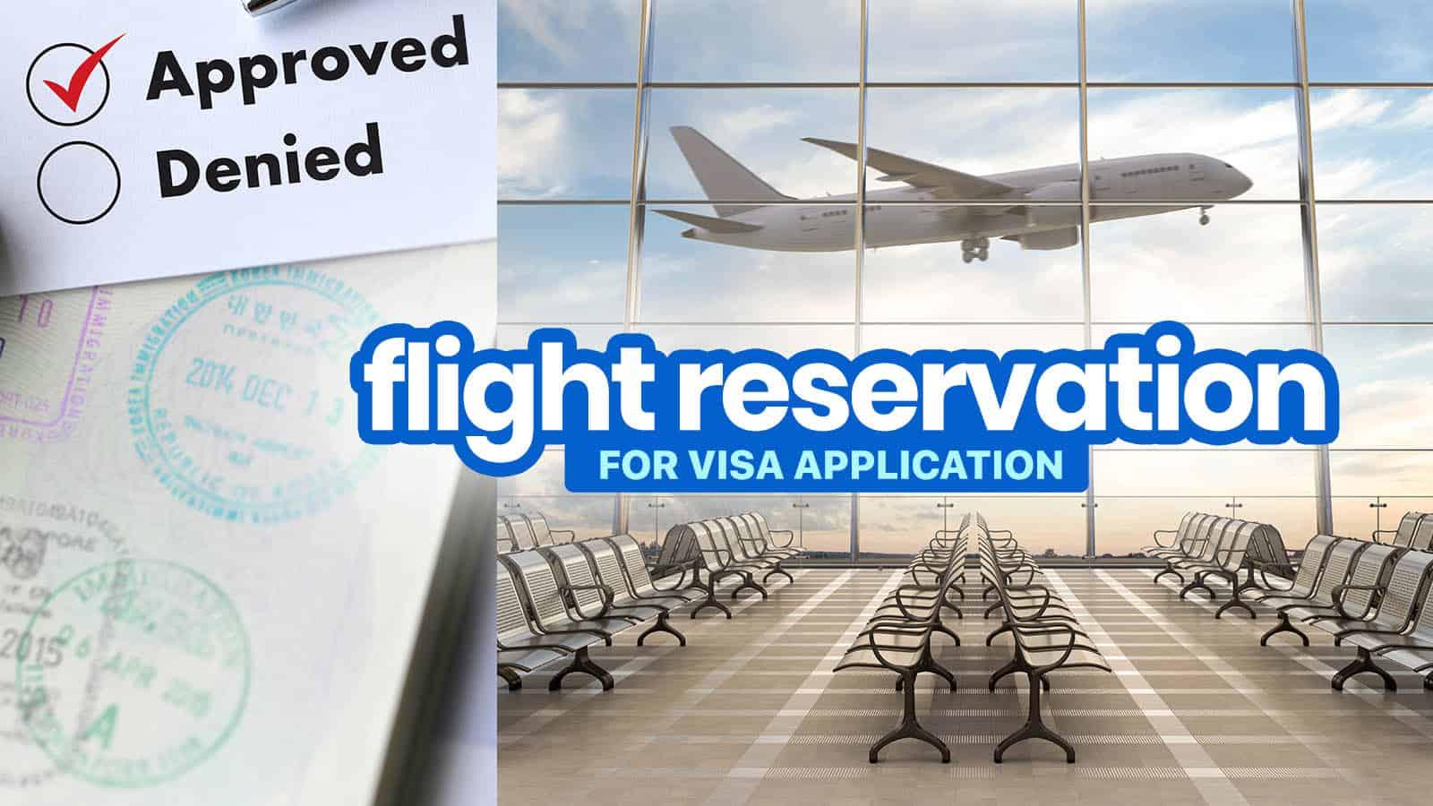 申请2021年签证的航班预订。申根签证、加拿大签证和其他签证 | 穷游者行程博客