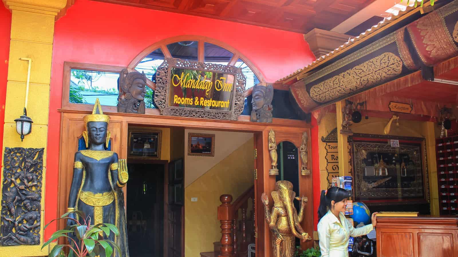 曼德勒酒店。在柬埔寨暹粒的住宿地点   穷游者的行程博客