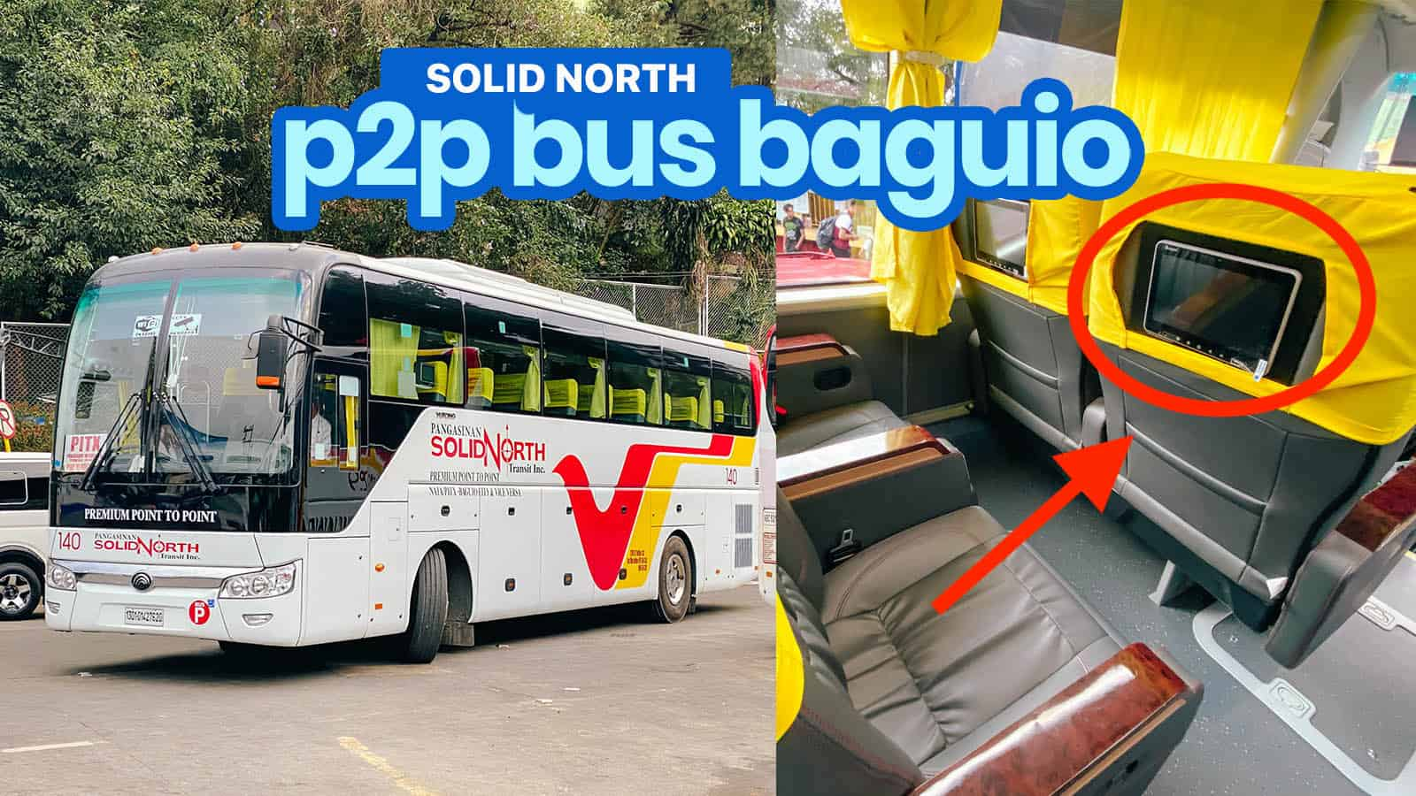SOLID NORTH P2P BUS: PITX TO BAGUIO Schedule & Fare | The Poor Traveler Itinerary Blog