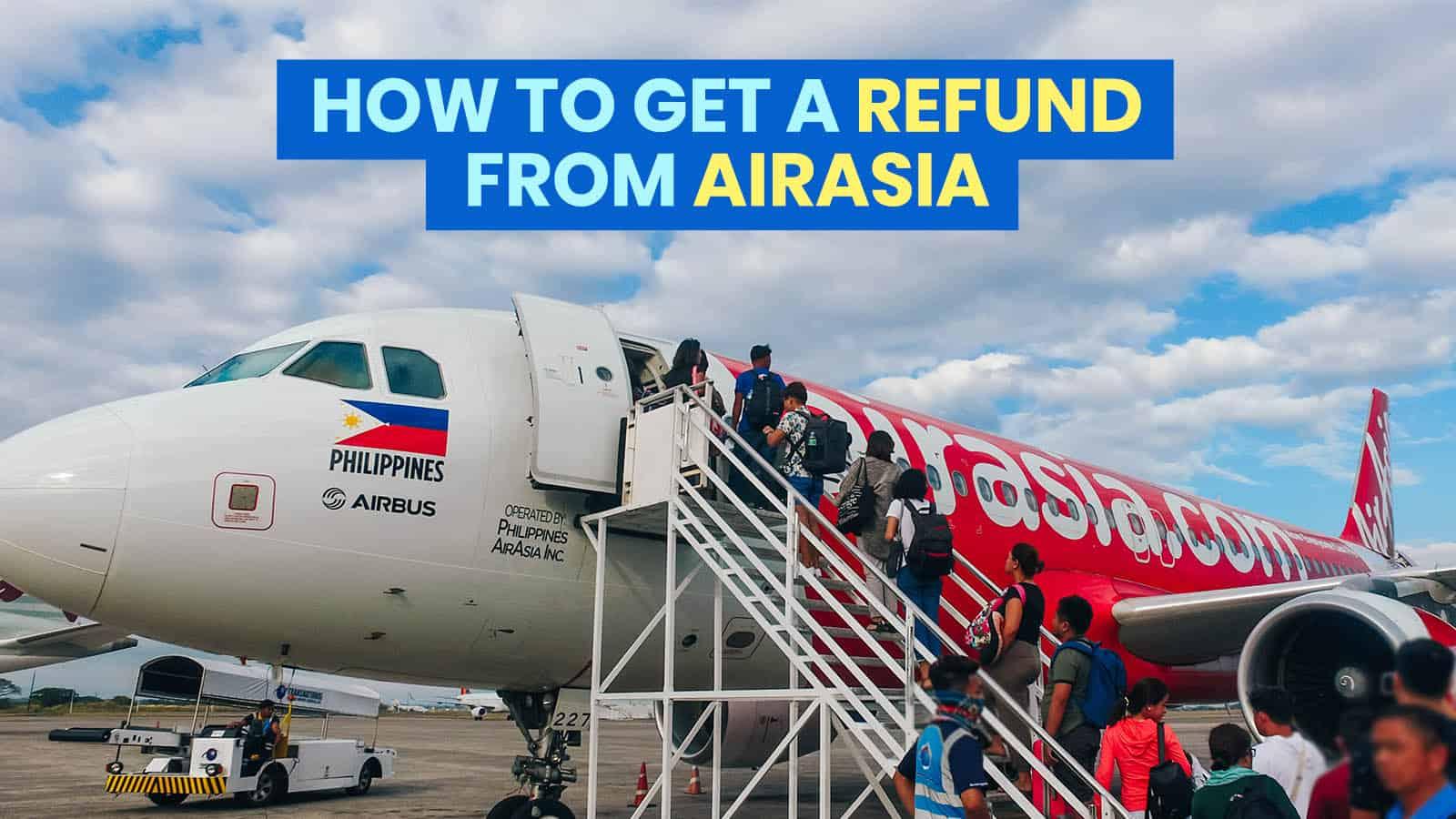 AIRASIA:如何为取消或改期的航班获得退款   穷游者行程博客