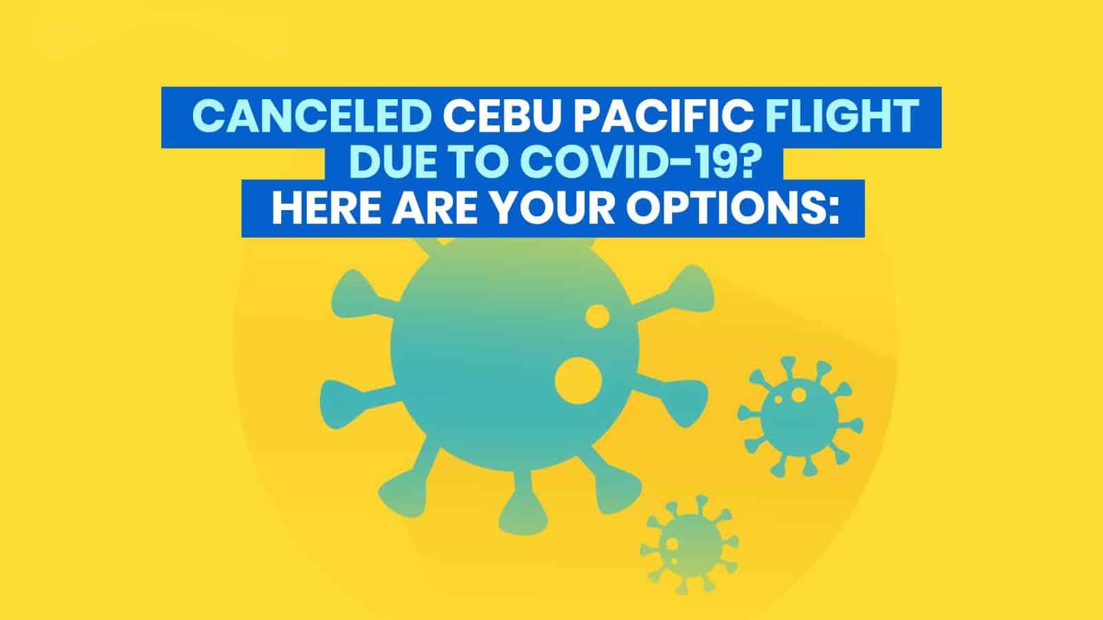 由于Covid-19而取消了CEBU PACIFIC的航班?以下是如何重新预订、退款或转换为旅游基金的方法   穷游者行程博客