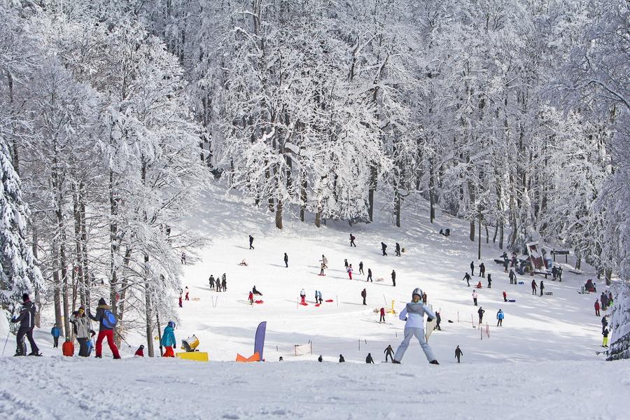 克罗地亚滑雪场2021:Sljeme滑雪场
