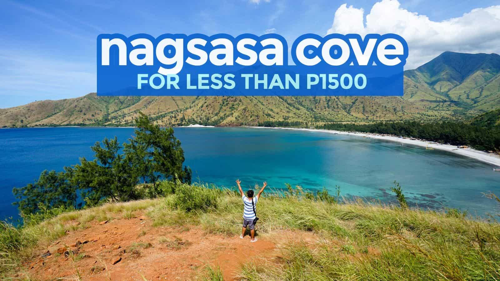 NAGSASA COVE: 旅行指南和预算行程   穷游者的行程博客