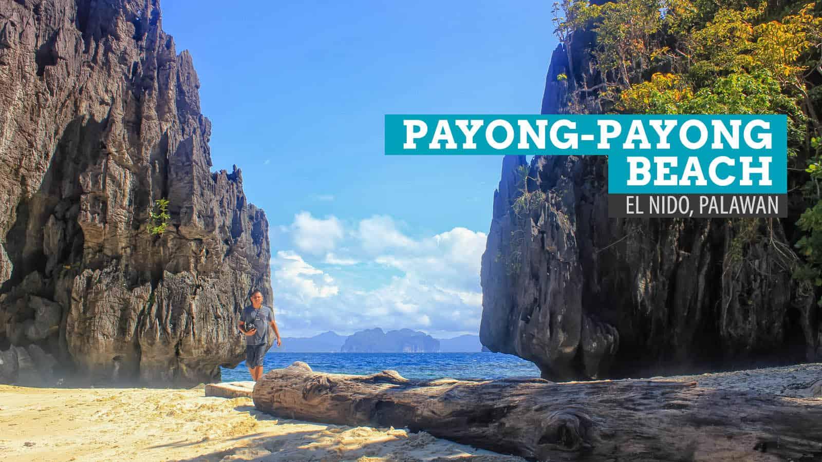 El Nido, Palawan:在Payong-Payong海滩交朋友   穷游者的行程博客