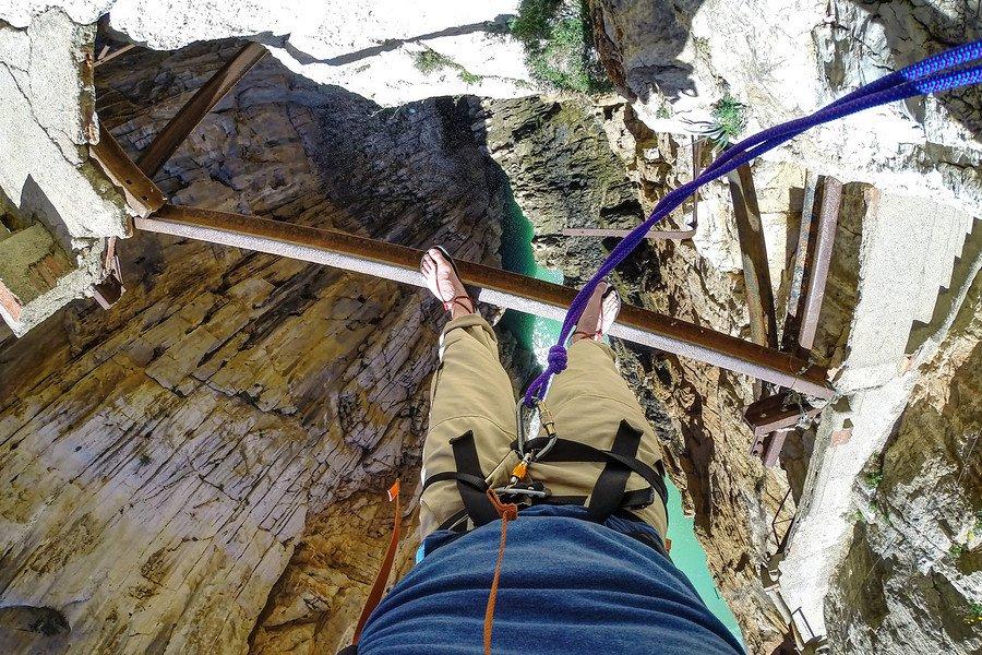Caminito Del Rey:西班牙最危险的徒步旅行