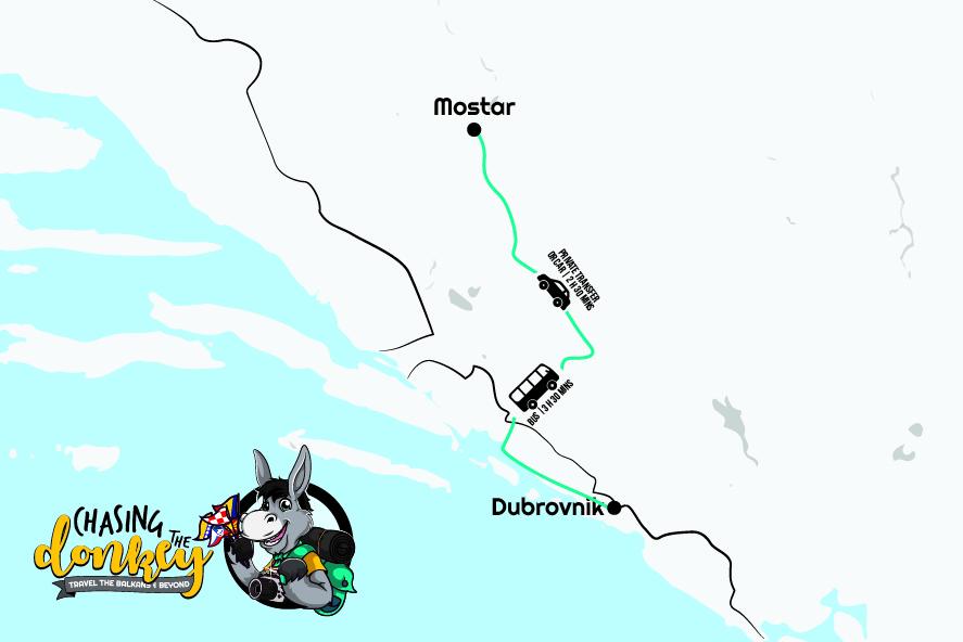 杜布罗夫尼克到莫斯塔尔一日游