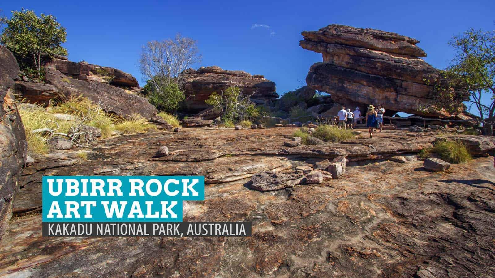 澳大利亚卡卡杜国家公园的Ubirr岩石艺术之旅 | 穷游者的行程博客
