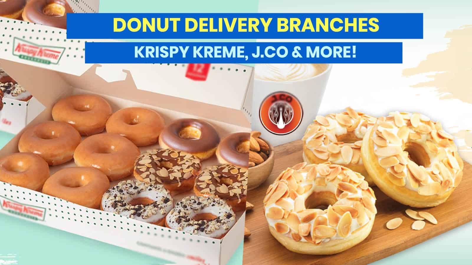 甜甜圈配送:Krispy Kreme、J.Co、Dunkin'等公司的开放分支机构!  穷游者行程博客