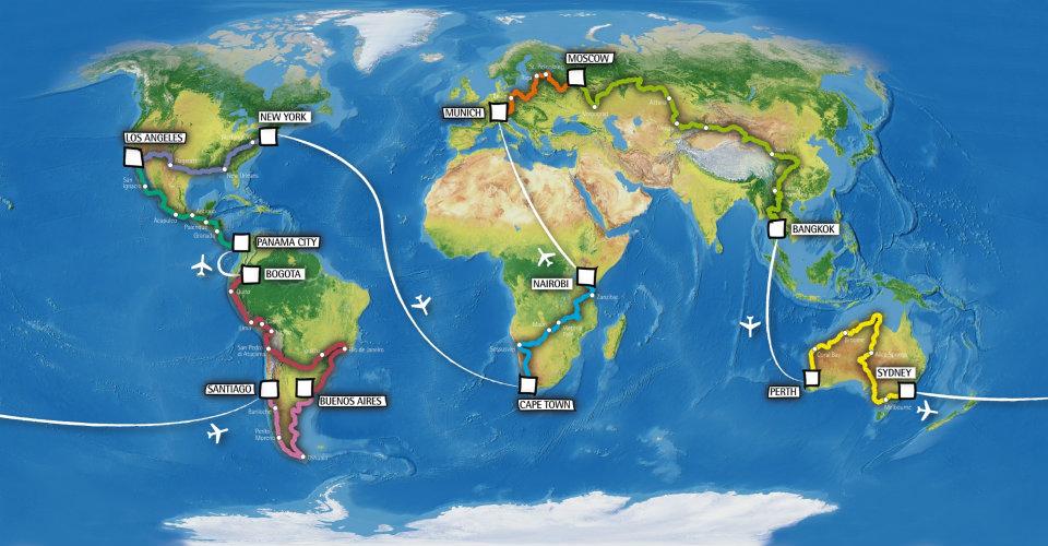 如何为世界旅行做准备(个人)
