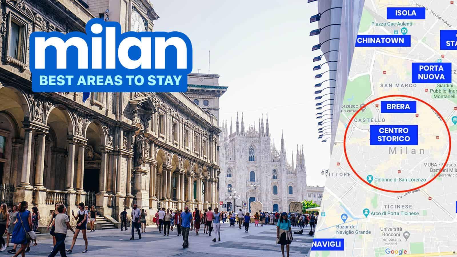 在米兰的住宿地点:市中心周围的6个最佳区域 | 穷游者的行程安排博客