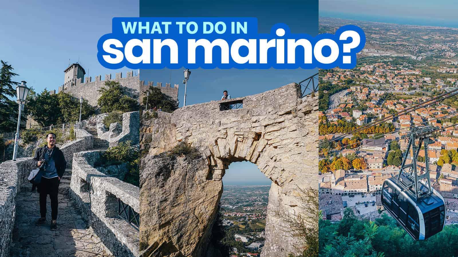 圣马力诺一日游行程:20件事情和步行路线   穷游者的行程博客