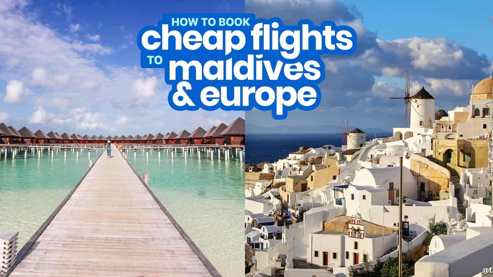 如何用Scoot预订前往欧洲、马尔代夫等地的廉价航班!穷游者的行程博客