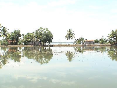 喀拉拉邦库马拉孔的访问,到后海的访问