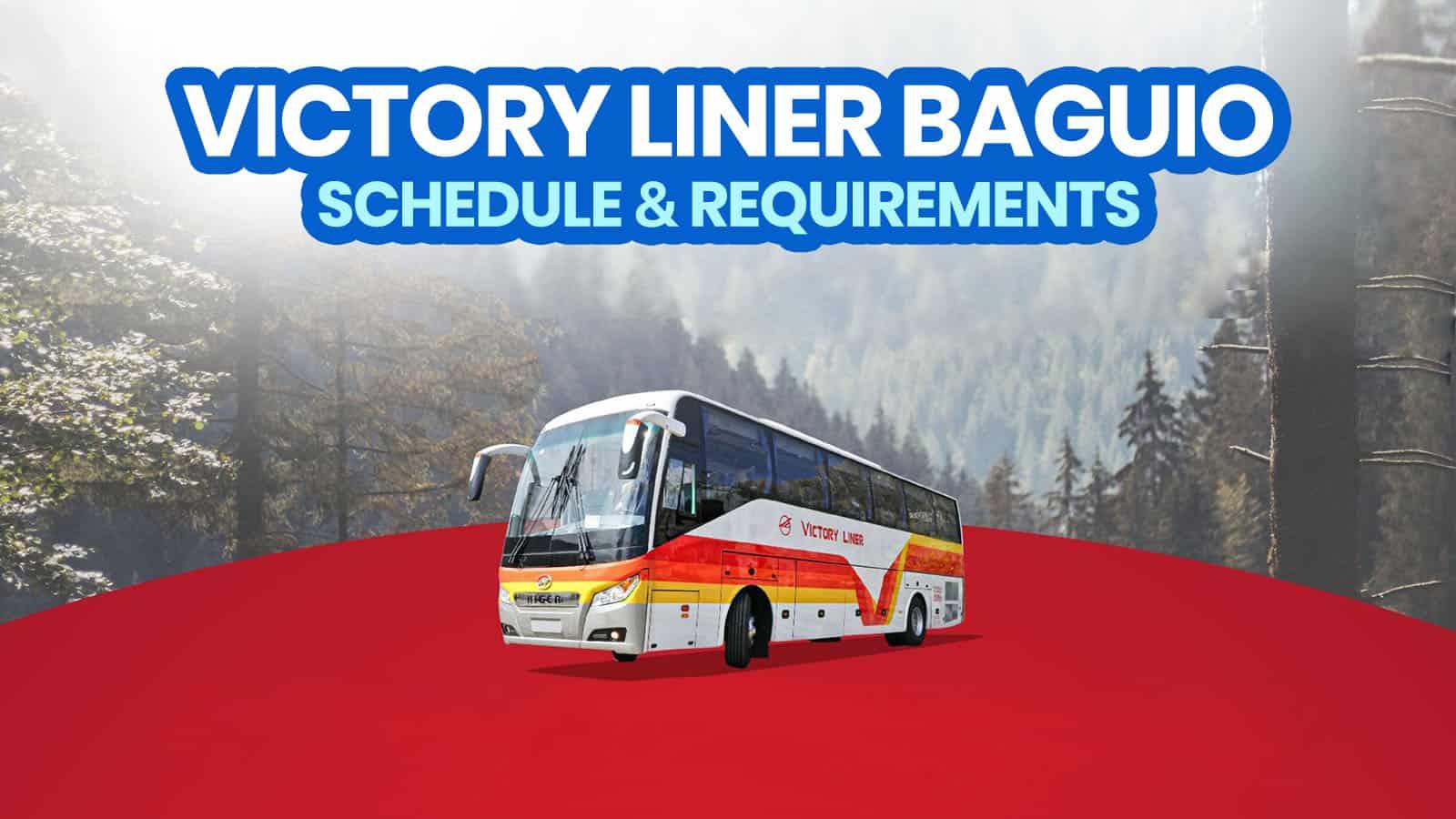 2021年VICTORY LINER BAGUIO巴士时间表和旅行要求(马尼拉和奥隆加波) 穷游者行程博客