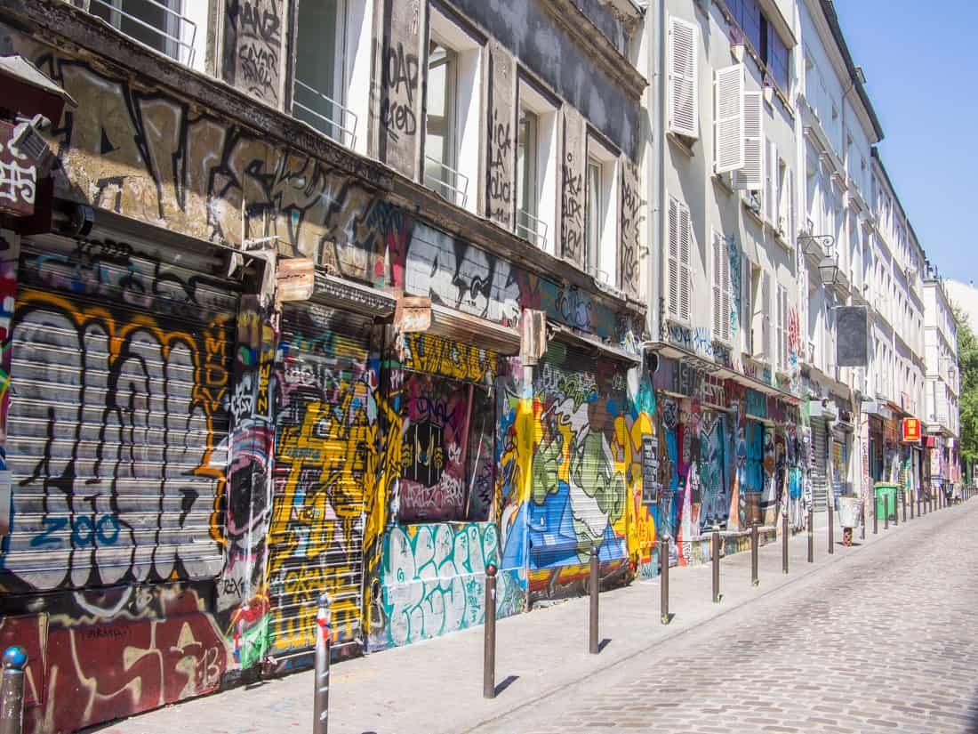 贝勒维尔。巴黎的另一面