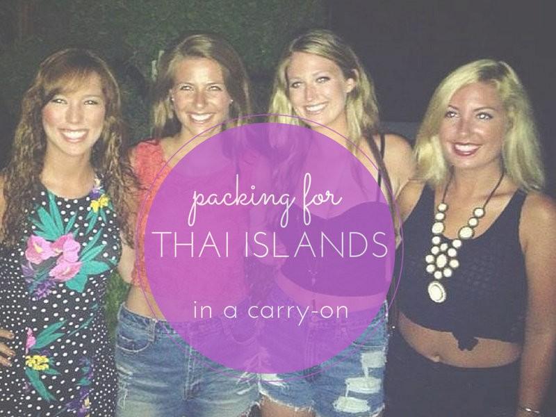 用手提箱打包去泰国 – 穿高跟鞋的嬉皮士