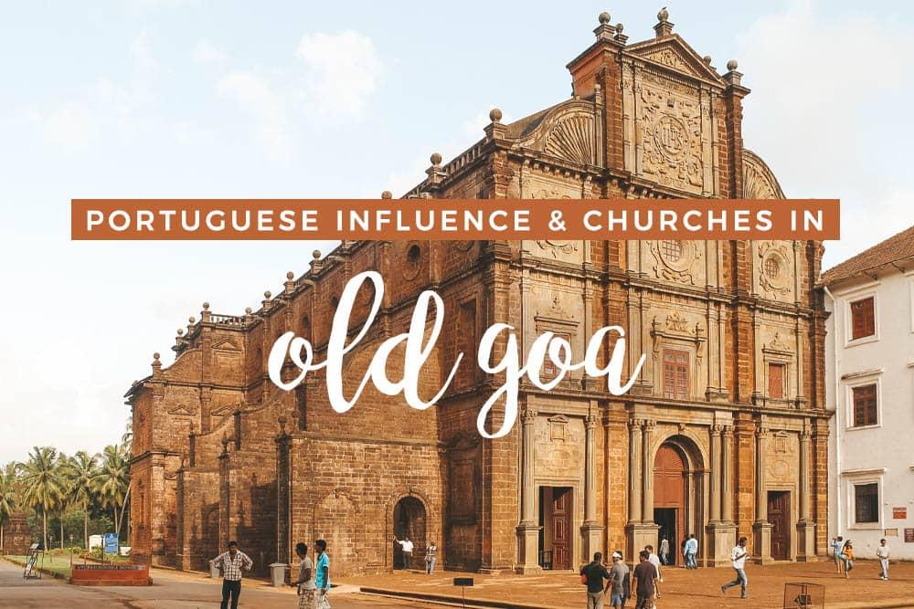 旧果阿的一些地方可以看到葡萄牙的影响 – 穿高跟鞋的嬉皮士