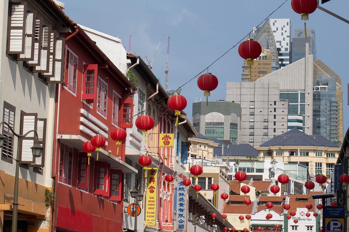 新加坡的唐人街和小印度