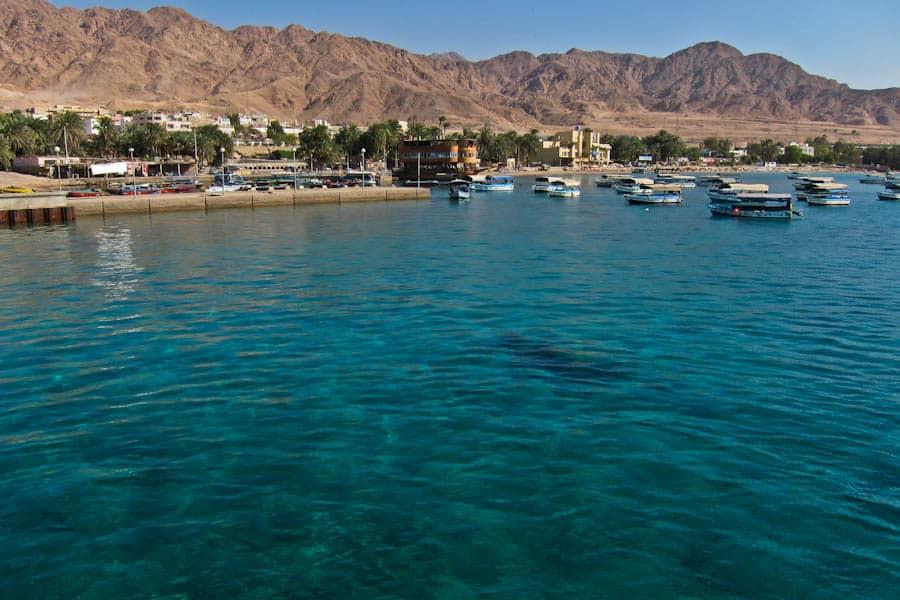 约旦亚喀巴的红海休闲之旅