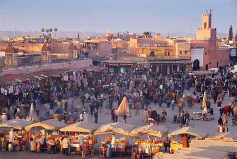 摩洛哥的越野旅游|一步到位4Ward