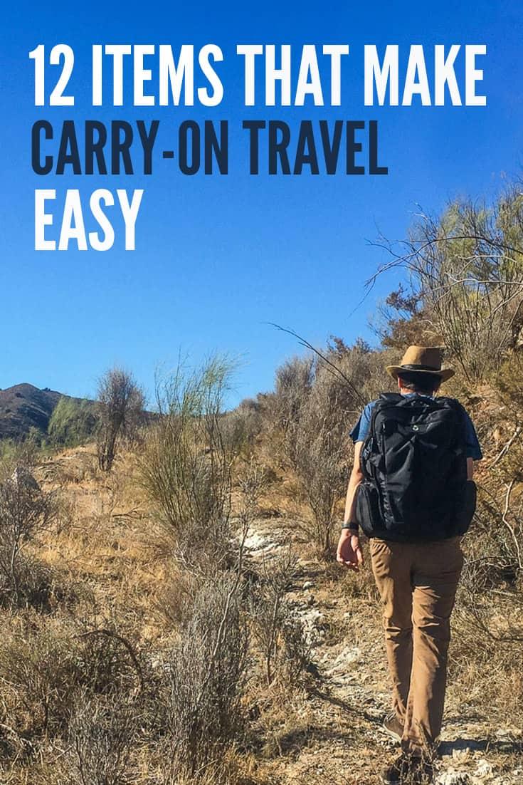 12件物品让随身携带的旅行更轻松