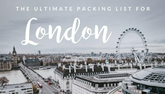 完美的女性伦敦行李清单 | 穿高跟鞋的嬉皮士