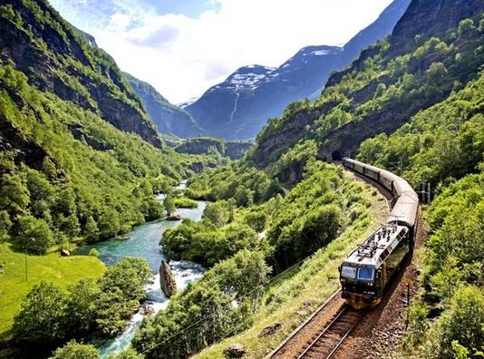 斯堪的纳维亚半岛的风景铁路之旅 一步到位4Ward