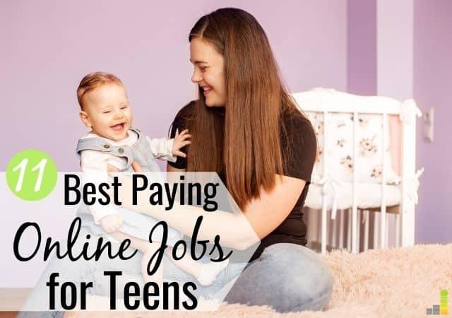 11份适合青少年的合法在线工作