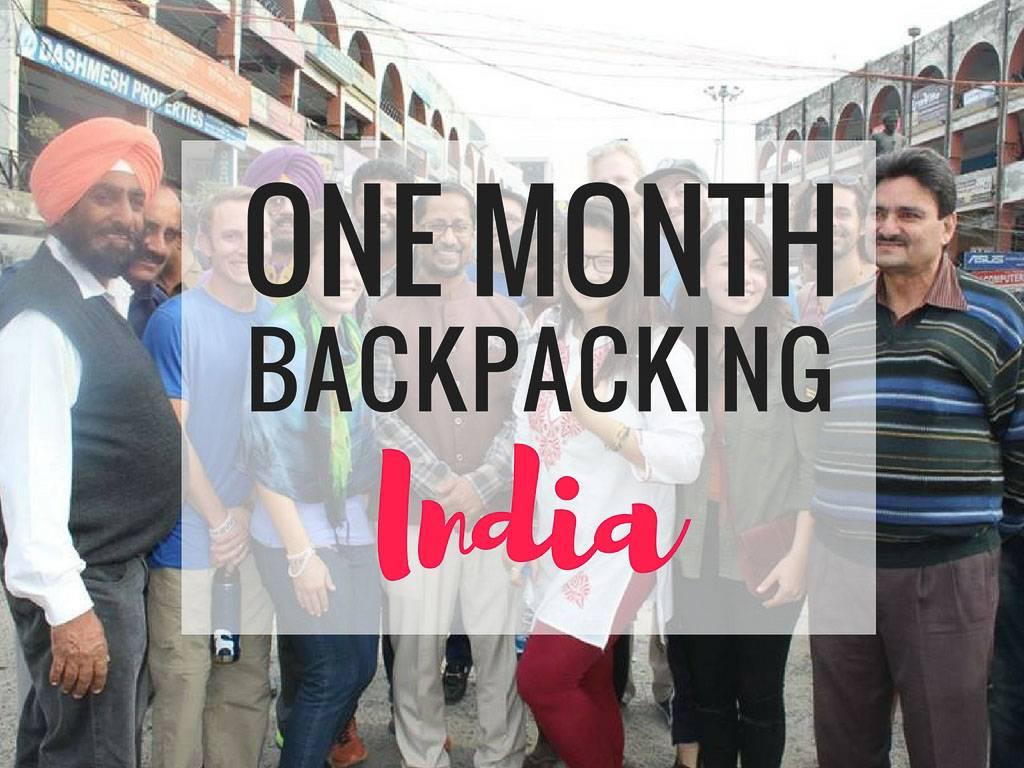 一个月的印度背包旅行   行程,旅馆,提示 – 穿高跟鞋的嬉皮士