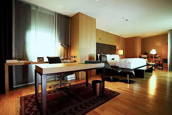 曼谷马渡子酒店的豪华客房 | 一步到位4Ward