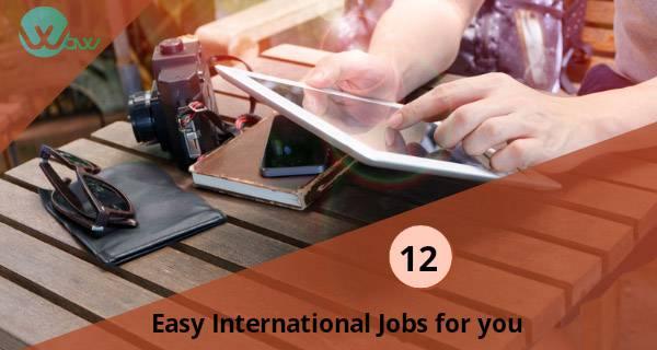 12个简单的国际在线工作,任何人都可以做