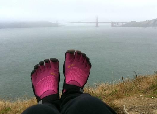 "vibram fivefingers回顾:我对 ""赤脚 ""徒步旅行的发现"
