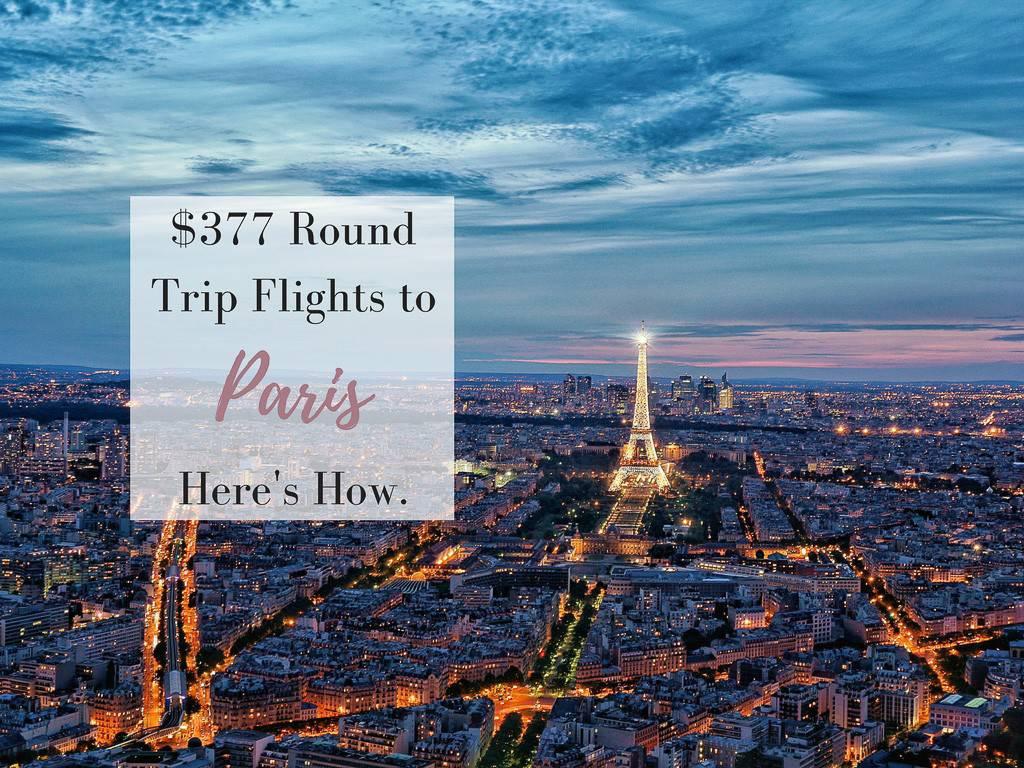 去巴黎有一百万个理由,但这个只需377美元的往返机票是最好的理由!- 穿高跟鞋的嬉皮士